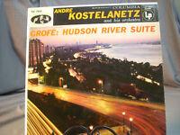 "Andre Kostelanetz- Grofe Hudson River Suite-12"" Vinyl LP Record Columbia"