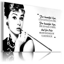 AUDREY HEPBURN  ACTRESS MODEL DANCER Canvas Wall Art Picture AH35  MATAGA .