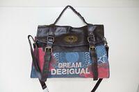 DESIGUAL WOMENS SHOPPING SHOULDER BAG HANDBAG TOTE SATCHEL FLORAL DREAM NEW 102