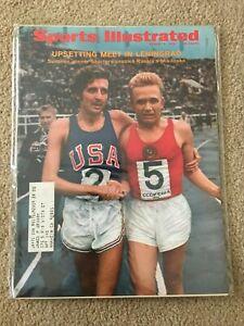 FM5-46 Sports Illustrated Magazine FRANK SHORTER RUNNING 8-3-1970