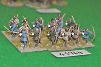 25mm roman era / goth - infantry 24 figs (plastic) - inf (45964)