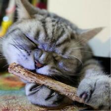 20Stk Matatabi Sticks Kauhölzer Katzenminze Catnip Baldrian Katzenspielzeug Neu