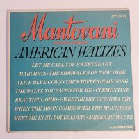 Mantovani And His Orchestra: American Waltzes: London 1962 Vinyl LP (Classical)