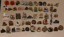 Vintage Swiss Suisse Switzerland Lot of 55 Various Pins