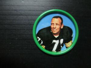 1962 SALADA TEA & JUNKET DESSERTS FOOTBALL COIN #16 BILL FORESTER PACKERS EX