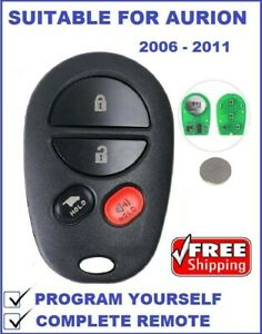REMOTE Suitable for TOYOTA KLUGER or AURION 2006 2007 2008 2009 2010 2011 2012