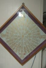 Antique gold ink mandala Buddhism calligraphy made in Japan