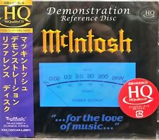 Mclntosh  - DEMONSTRATION REFERENCE DISC (HQCD) MADE IN JAPAN
