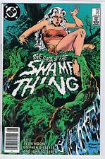 SAGA OF THE SWAMP THING 25 7.5 8.0 1ST CAMEO JOHN CONSTANCE NEWSTAND 1984 PTC LL