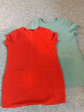 2 x Peacocks dresses size 20. Tunic style.  Excellent condition