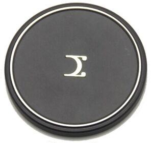 Vintage Sigma Logo Metal 72mm Slip On Front Lens Cap Used