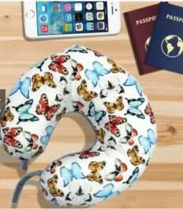 Home deals Neck pillow Butterflies