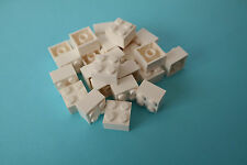 25 Lego Bausteine 2x2 weiß NEU Grundsteine Basic Steine 3003