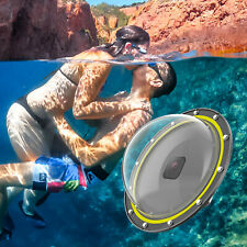 For GoPro Hero 8 Dome 30M Underwater Diving Camera Lens Cover Housing+Grip GB