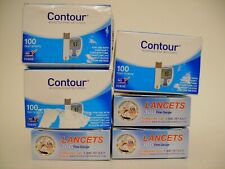 300 Contour Test Strips & 30G Lancets w/Next Day Shipping 2021-02-28 And Later