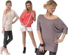 Hüftlange 3/4 Arm Damenblusen, - tops & -shirts im Tunika-Stil für Party-Anlässe