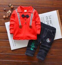 Baby Boy Clothes Set Children Toddlers Coat Pants Fashion Kid Autumn Spring Suit