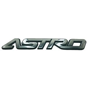 1995-2005 Chevrolet Astro Van Emblem Logo Symbol Badge Rear Side Door Chrome OEM