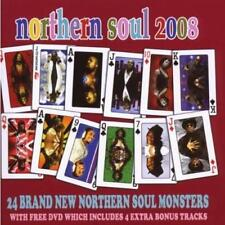 NORTHERN SOUL 2008 Various Artists NEW & SEALED CD + DVD SET (CENTRE CITY) R&B