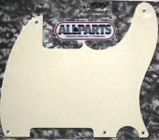 """Pickguard Esquire All Parts US 1ply 5tr. Parchment  (OW) .060"""" PG0567-051"""