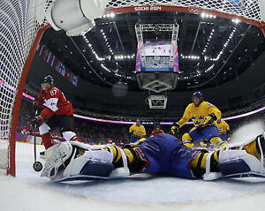 Sidney Crosby - 2014 Gold Medal Goal, 8x10 Color Photo