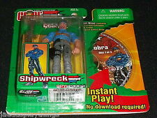 GI Joe Action Figure SHIPWRECK Spytroops Hasbro 2003 4""