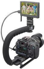 Pro Grip Camera Stabilizing Bracket Handle for Panasonic Lumix DMC-LX7K DMC-LX7W