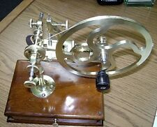 Antique Watchmaqker Rounding Up Gear-Watch & Jeweler's Tool Lathe -With Tools!
