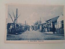 TUNISIA - EBBA KSOUR, Grande Rue - Vintage Postcard  §B194