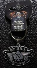 MOTORHEAD - OFFICIAL KEYCHAIN  LEMMY 70 KILMISTER  METAL KEY RING
