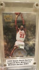 1999 Upper Deck Century Legends EPIC Milestones #EM1 Michael Jordan, RARE