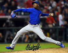 AROLDIS CHAPMAN SIGNED PHOTO 8X10 RP AUTO AUTOGRAPHED CHICAGO CUBS