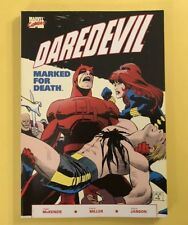 Daredevil Marked For Death 1 TPB, (1990), 1st Print, Marvel Black Widow F Miller