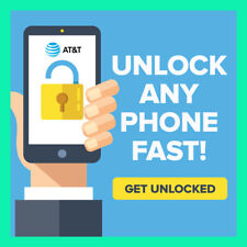 FACTORY UNLOCK SERVICE CODE AT&T all devices IPHONE SAMSUNG HTC Alcatel Nokia