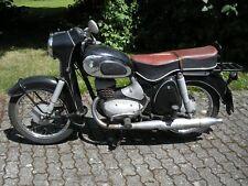 Oldtimer Motorrad DKW 175er Baujahr 1957 mit originaler Sitzbank
