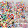 7 Styles 1000pcs 3D Nail Art Tips Stickers Fimo Canes Stick Rod Polymer Clay Dec