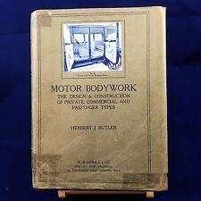 1924 - MOTOR BODYWORK First Edition with Rare DJ