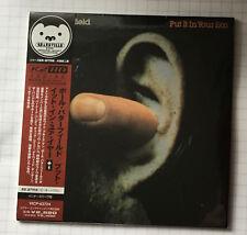 PAUL BUTTERFIELD-PUT IT IN YOUR EAR Japon MINI LP CD Nouveau! VICP - 63724 SEALED