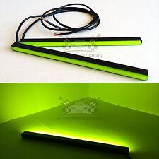 "2xNew Yellow Mini LED DRL Bar 6.5"" 24-SMD5630 Waterproof High Bright Light Strip"