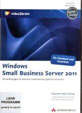 Video2Brain Windows Small Business Server 2011