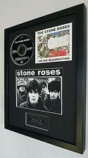 The Stone Roses Framed Original CD Resurrection-Edition-Metal Plaque-Certificate