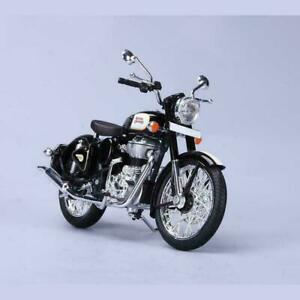 New Motorcycle Royal Enfield Classic 500CC 1:12 Scale Model Black