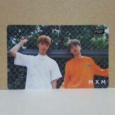 MXM UNMIX 1st Mini Album X GS Promo POP Card 1p + Postcard 3p