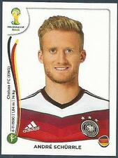PANINI WORLD CUP 2014- #503-DEUTSCHLAND-GERMANY & CHELSEA-ANDRE SCHURRLE