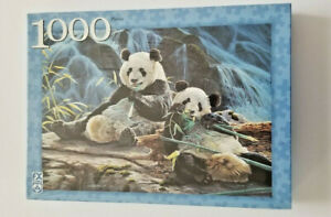 Bamboo for Two Pandas by F.X. Schmid 1000 Piece Jigsaw Puzzle New Unopened