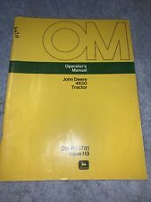John Deere 4630 Tractor Operators Manual Om R53781 Issue H3