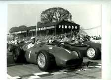 Stirling Moss Maserati 250F Goodwood Easter Meeting 1956 Signed Photograph