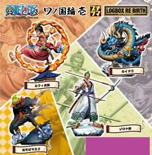 MegaHouse One Piece Logbox Re Birth Wano Country Vol.01 Figure Set of 4