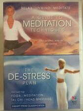A GUIDE TO MEDITATION TECHNIQUES / THE DE-STRESS PLAN DVD