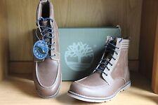 "Timberland Bartram Moc Toe 6"" Leather Boot Tan Size11.5  TBO6862B"